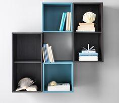 קטלוג איקאה 2016 Organisation Ikea, Ikea Storage Units, Ikea Shelving Unit, Ikea Shelves, Wall Storage, Wall Shelves, Storage Organization, Bookshelves In Living Room, Ikea Living Room