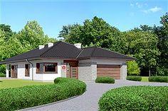 Projekt domu Dom przy Pastelowej 6 Home Fashion, Dom, Mansions, Architecture, House Styles, Outdoor Decor, Design, Home Decor, Arquitetura