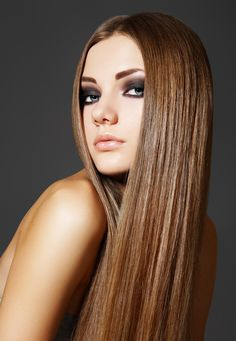 straight hair smoky