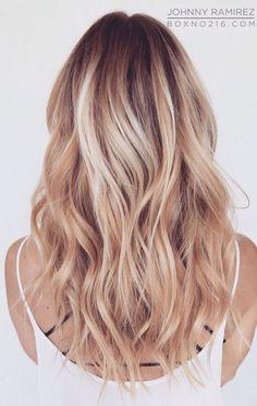 Från ljus kall rosa blond till varm koppar blond. Jag får många frågor om röda hår på sommaren, när solen kommer fram och bleker är det ju omöjligt att behålla