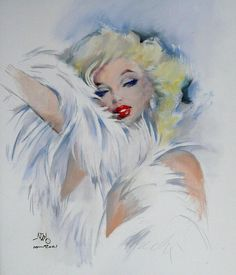 Silvano (Nano) Campeggi 8 – Pin Up Girls Arte Marilyn Monroe, Marilyn Monroe Artwork, Pop Art Makeup, La Reproduction, Norma Jeane, Pin Up Art, Art Pictures, Portraits, Cool Art