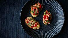 Billede af bruschetta med tomater