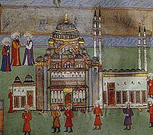 Süleymaniye Mosque - An Ottoman miniature of the mosque - Wikipedia, the free encyclopedia