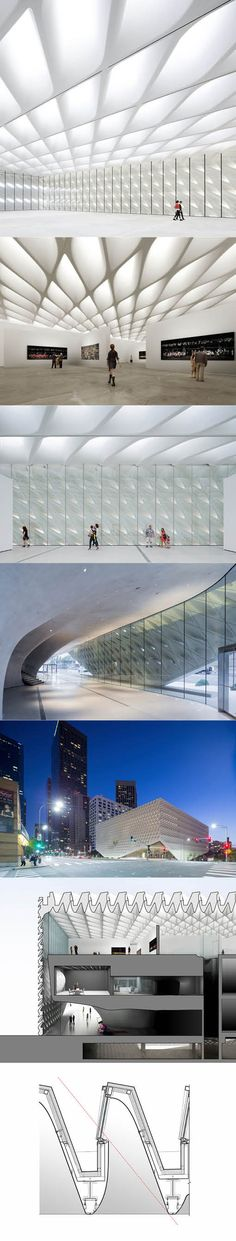 2015 Diller Scofidio + Renfro - The Broad Museum / Los Angeles USA / concrete steel / white / cultural