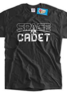 Space Cadet T-Shirt Astronomy planets T Shirt Family Mens womans space youth planets tshirt Time T, Grey Tee, Family Shirts, Cotton Tee, Cool T Shirts, Planets, Youth, T Shirts For Women, Free Add