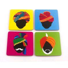 New pop art projects wall decor ideas Madhubani Art, Madhubani Painting, Rajasthani Art, Rajasthani Painting, Indian Folk Art, Indian Man, Indian Art Paintings, Truck Art, Kitchen Wall Art