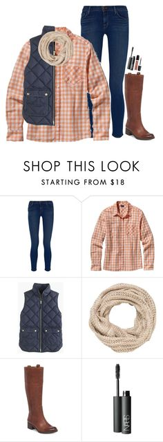 """""""Contest watching the parade"""" by preppy-ginger-girl ❤ liked on Polyvore featuring J Brand, Patagonia, J.Crew, maurices, Lucky Brand, NARS Cosmetics, Marc Jacobs and 5setsofthanksgiving"""