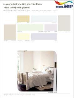 Bảng màu sơn Dulux Inspire ngoài nhà (Dulux Inspire ngoài trời) 04/06