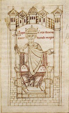 Pépin le Bref - Père de Charlemange - 715-768