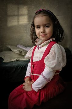 Photograph the little princess by mircea bunea on Girls Dresses, Flower Girl Dresses, Little Princess, Daughter, Victorian, Poses, Wedding Dresses, Photography, Fashion