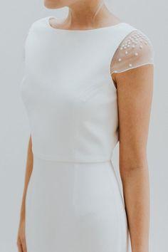 15 ไอเดียออกแบบชุดเจ้าสาวให้วิจิตรด้วยการปักเย็บท่อนบน | Happywedding.life
