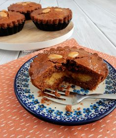 Speculaas cakes with