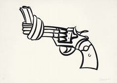 Non violence by P-E Fronning, via Flickr