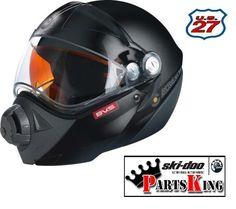 4474040490 | New Ski-Doo BV2S Snowmobile Helmet For Sale | Small | Black #SkiDoo