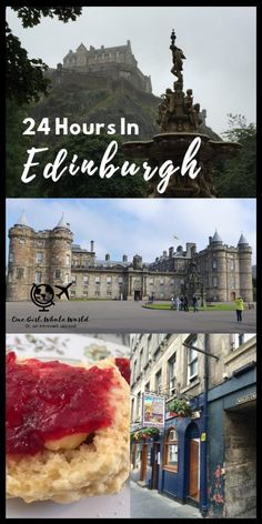A guide for first-timers visiting Edinburgh, Scotland.what to do in Edinburgh if you only have a day or two. A recommended walking route and what to see! Edinburgh Travel, Visit Edinburgh, Edinburgh Castle, Edinburgh Scotland, Scotland Travel, Ireland Travel, Royal Mile Edinburgh, Galway Ireland, Cork Ireland