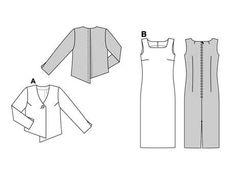 Burda Dress and jacket 8511