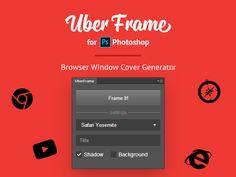 UberFrame Extension for Photoshop by Anton Lyubushkin
