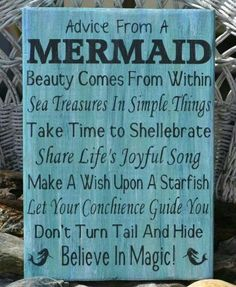 Mermaids are smart...  time to shellebrate! :) Definitely ~ Believe In Magic!!