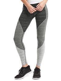 gFast performance cotton colorblock leggings
