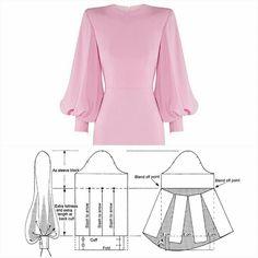 Source by liveintrier sewing patterns # Dress Patterns A Line Sundress Pattern, Shift Dress Pattern, Abaya Pattern, Pattern Draping, Sleeve Pattern, Evening Dress Patterns, Baby Dress Patterns, Skirt Patterns, Mode Instagram