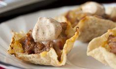 Linda's Taco Scoop Appetizers
