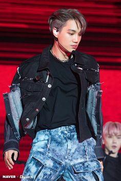 """Homme Fatale"" Kai (SuperM) ready to blow up fans' hearts Baekhyun, Kaisoo, Exo Kai, Taemin, Shinee, Capitol Records, Superm Kpop, Korean Boy, Korean Idols"