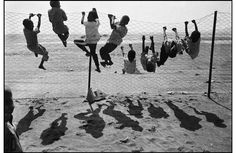 "Somalian refugees at Hiswa camp, Aden, 1992, from Nikos Economopoulos's book ""About Children"". /    Photo: Nikos Economopoulos/Magnum Photos"