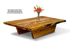 The Silver Maple I Coffee Table.