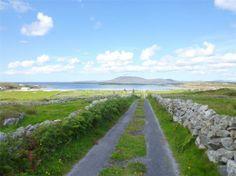 "30 minute loop walk at Moyrus Beach Map at ""Red Sails"" Connemara, Walks, Trek, Sailing, Ireland, Country Roads, Map, Beach, Holiday"
