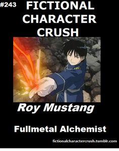 Fictional Character Crush: (Fullmetal Alchemist) Roy Mustang, The Flame Alchemist, Hot in more ways than one. Fullmetal Alchemist Mustang, Fullmetal Alchemist Alphonse, Alphonse Elric, Fullmetal Alchemist Brotherhood, Rin Okumura, Got Anime, Manga Anime, Anime Meme, Anime Art
