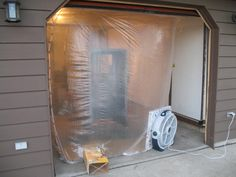 Weekend Paint Booth -- Do a bunch of projects and paint them all in one weekend.