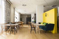 Mobiliario KD Contract Sala Comedor Hotel Vincci Bit 4* Barcelona