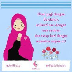 Quotes Sahabat, Cartoon Quotes, Qoutes, Life Quotes, Hijab Quotes, Religion Quotes, Anime Muslim, Hijab Cartoon, Doa Islam