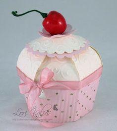 Artesanato, receitas e dicas: Caixinhas para Cupcake