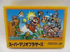 Brand-New! Nintendo Super Mario Brothers Famicom FC Import Japan 876