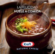La felicidad tiene diferentes formas y circunstancias, una de ellas es el olor a comida del medio dia. #KraftRD