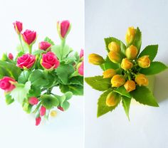 Flores miniatura Mi Craft Jardín