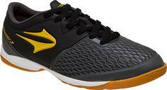 f88eafd000 Tenis Topper Indoor Provoke III Preto e Amarelo