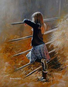 Artist - Barry Westcott British Painter.