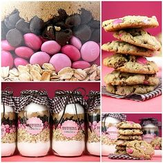 Cowgirl cookies in a jar di Bakerella in italiano e con le dosi in grammi