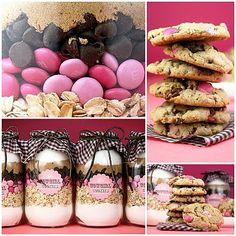 Cowgirl cookies in a jar di Bakerella in italiano e con le dosi in grammi