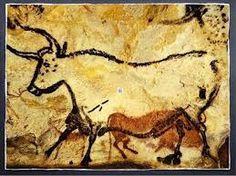 Pittura rupestre - Grotta di Lascaux - Francia, 15000a.c.