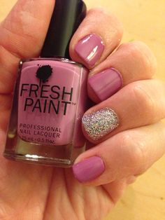 "Fresh Paint's ""Glastonberry"" with Funky Fingers' ""Sand & Stilettos"".... from Five Below!"