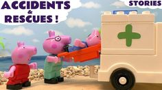 Peppa Pig Compilation of Accidents and Rescues with MLP My Little Pony &...