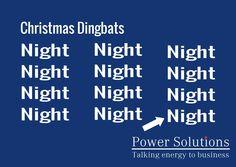 Power Solutions UK - Christmas Dingbat no 9
