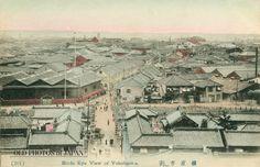 tutshie:  (via OLD PHOTOS of JAPAN: 元町からの眺め 1900年代の横浜)