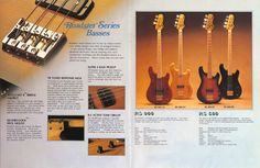 Ibanez Electric Guitars Supplement No.1 1979 inc Ibanez RS900 - more details on these guitars can be found here: http://www.kaitunes.com/guitars/electric/ibanez/Ibanez/Roadster/Series.html