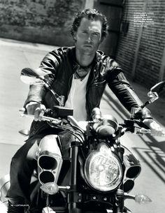 Matthew McConaughey by Mark Liddell for OPTIMUM magazine, 2012