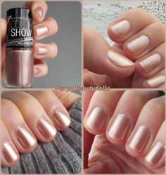 "ColorShow Stripped Nudes ""Tan Lines"" de Maybelline."