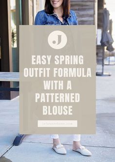 This is a fool-proof spring outfit formula that you will be able to use over and over again to mix and match pieces in your closet. In this post, Jo-Lynne shows women over 40 how to easily put together a trendy spring outfit.
